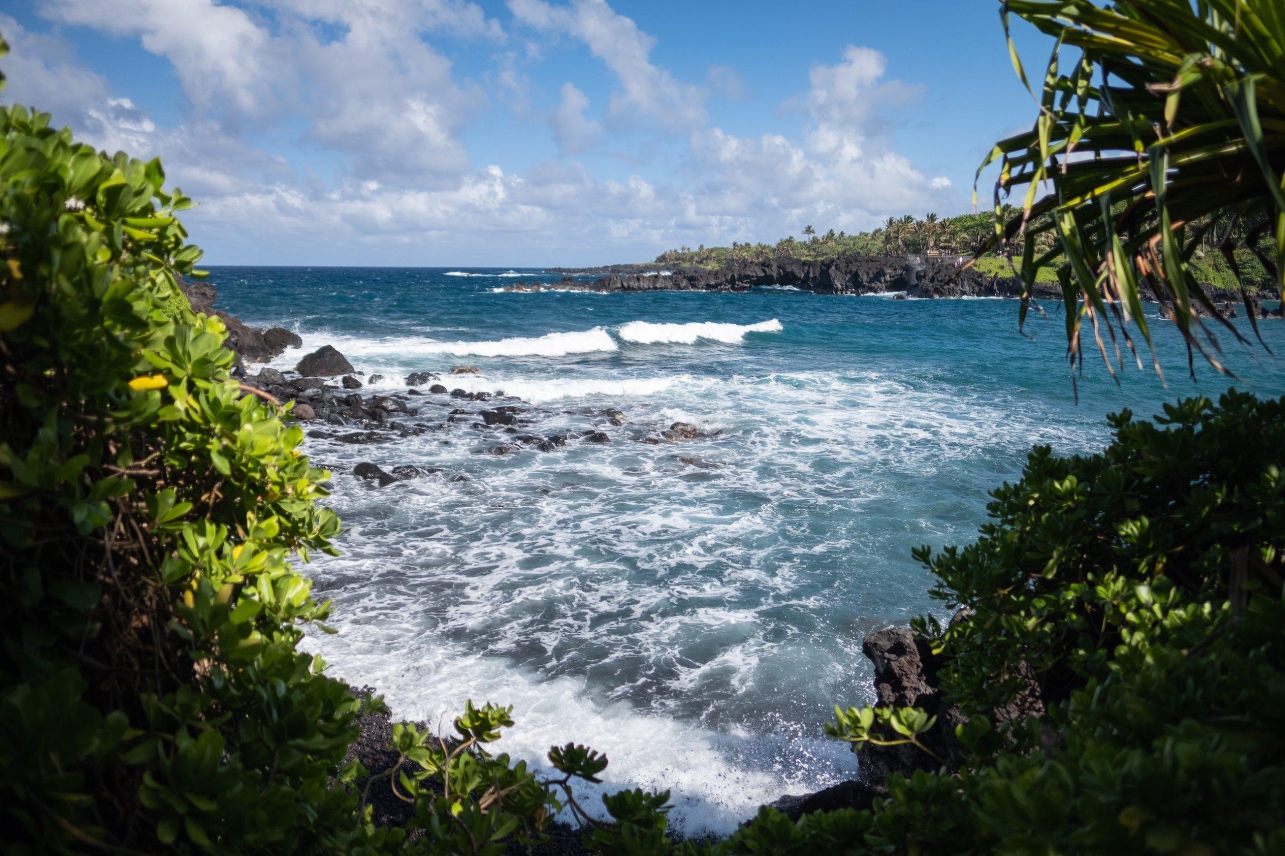 Maui Car Rental Hana Banner