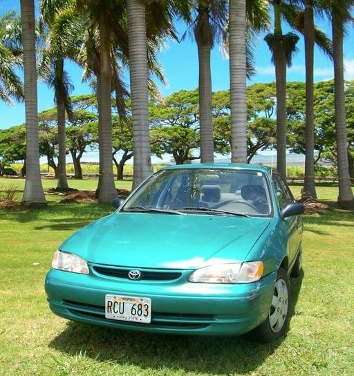 Maui Car Rental Example Car